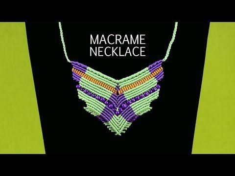 ▶ Flying Bird Necklace Tutorial - YouTube