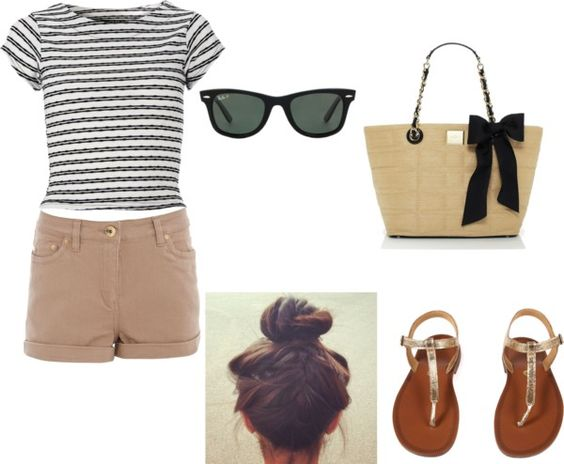 """Day at the Beach"" by trend-lover on Polyvore"