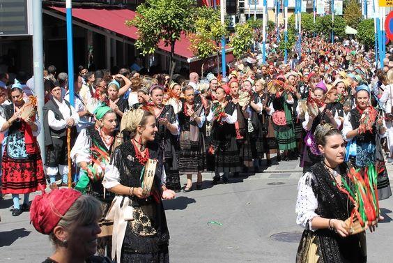 DESDE TRIAPEÑA: Fiesta de la Virgen de la Guía (Llanes): 8 de septiembre