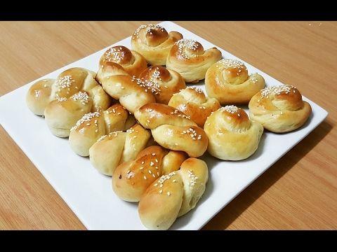 طريقة عمل لفة الخميرة مثل القطن البريوش أنصحكم بتجربتها Youtube Food Pretzel Bites Bread