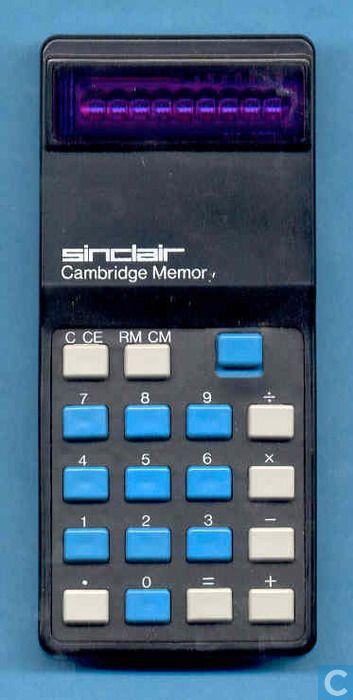Rechenhilfsmittel - Sinclair - Sinclair Cambridge Memory