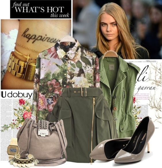 """""""Camouflage Colors"""" by bklana on Polyvore"""