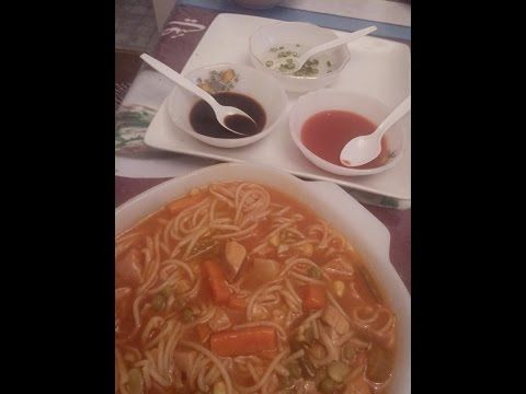Hot & Sour Chicken Noodles Soup (urdu / hindi) By Sehar Syed. - YouTube