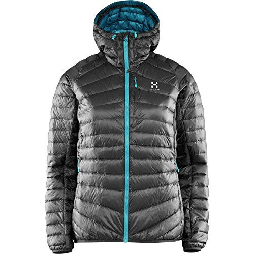 Versatile, warm, stylish, and insanely lightweight, the Haglofs Women's Essens III Q Down Hooded Jacket truly stands apart from other down jackets. The 800-fill...
