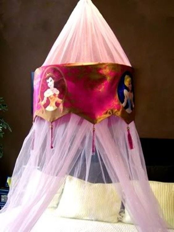 Disney Princess Bed Canopy Baldaquin Style Hard to Find Sold Out | eBay