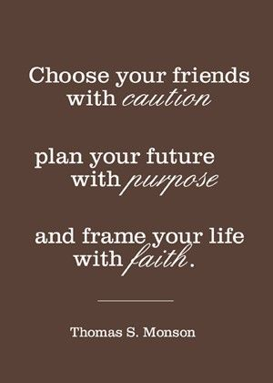 caution, purpose, faith