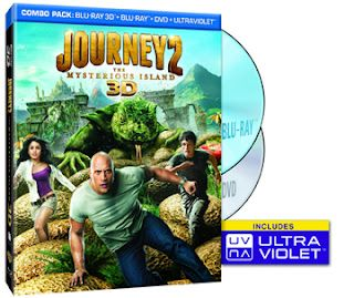 Journey2: The Mysterious Island DVD Combo Pack Giveaway!