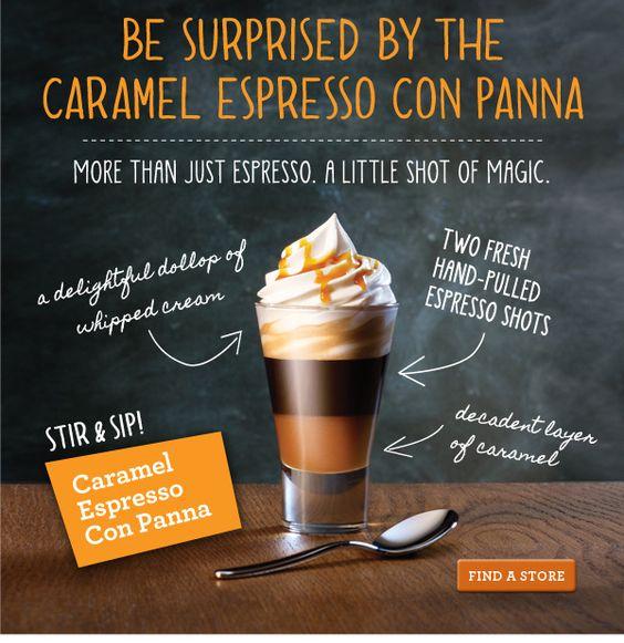 Caramel Espresso Con Panna
