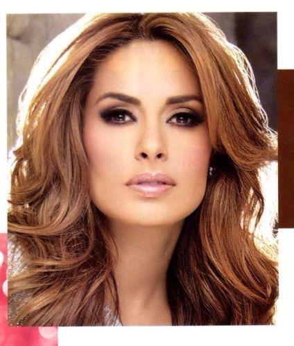 Galilea Montijo , hair color