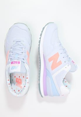 Diese tolle Farbkombination macht gute Laune. New Balance WL574 - Sneaker low - mirage/twilight purple für 99,95 € (24.05.16) versandkostenfrei bei Zalando bestellen.