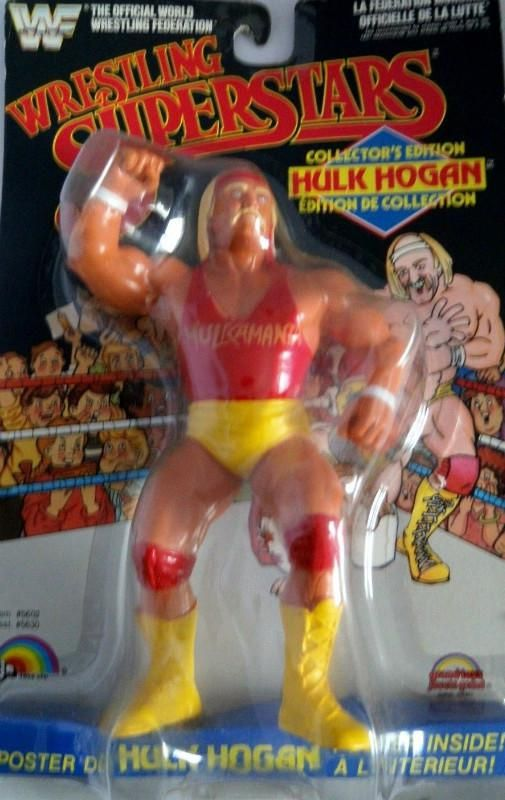 WWF ljn wrestling superstars Hulk Hogan Red Shirt MOC – Hulk Hogan Birthday Card