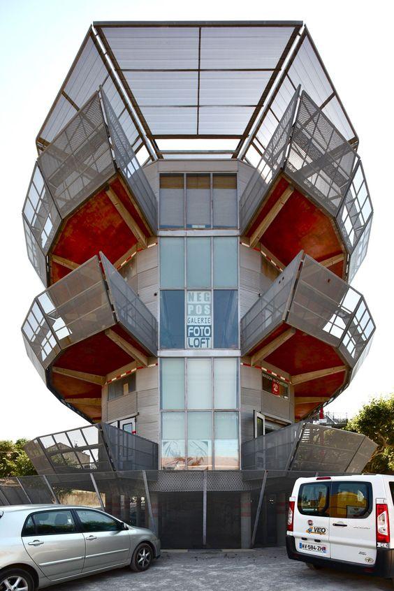 A Eb 02 Jean Nouvel Nemausus N Mes Hic Arquitectura