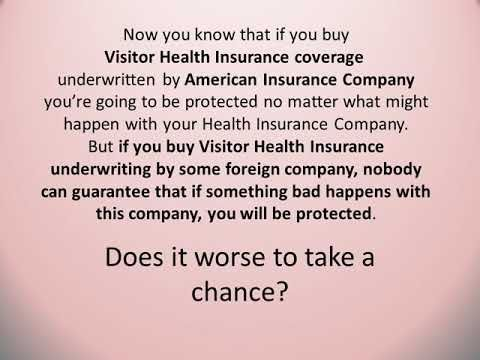 Why Is It So Important To Get A Visitor Health Insurance