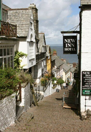The beautiful village of Clovelly,  Devon UK. The whole estate including the village is owned by one family, no cars only donkeys to transport everything. Just the most wonderful, unspoilt and unique place a must see if you are ever in Devon