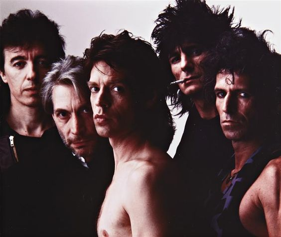 The Rolling Stones, NYC, 1985 by Annie Leibovitz.