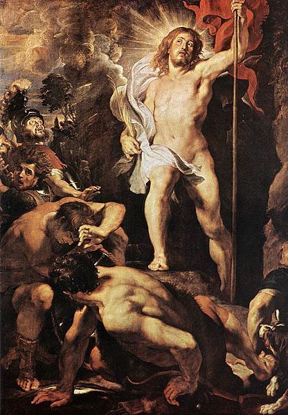"""The Resurrection of Christ"" by Peter Paul Rubens, 1611-1612"