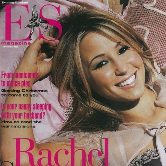 Evening Standard Magazine Rachel Stevens Pinterest