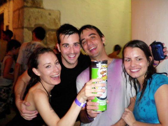 Wine & Water Festival in Requena, Spain