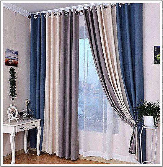 Cortinas Modernas Disenos De Cortinas Para La Casa 2018 Patternedcurtains Cocinasparedes In 2020 Curtains Living Room Baby Room Curtains Home Curtains