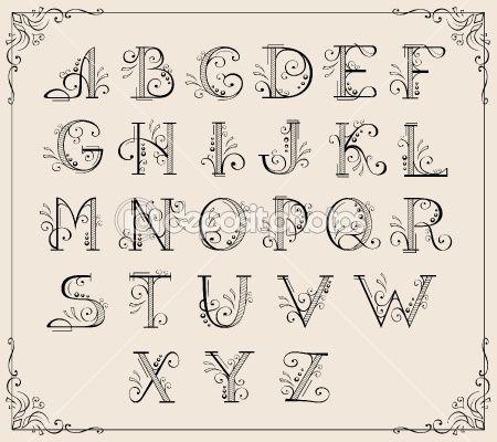 Calligraphy Fonts Alphabet Free