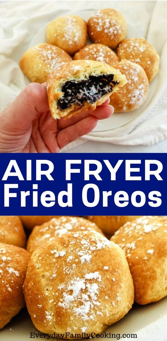 Deep-Fried Oreos in an Air Fryer