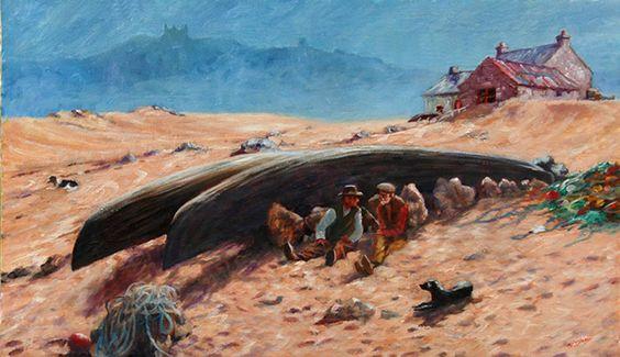Roy Lyndsay Artist l Landscape Paintings l Irish Art l Nature Paintings