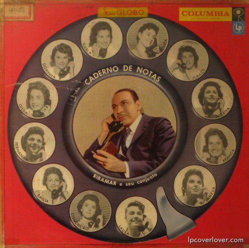 """""""Caderno de Notas,"""" Ribamar e seu Conjunto, Columbia Records (Brazil)"""