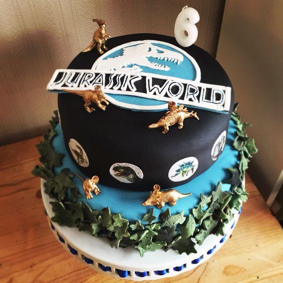 Jurassic world, Birthday cakes and Boys on Pinterest