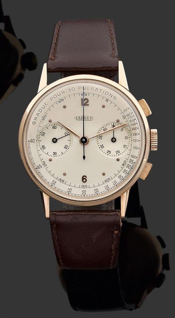 jeager vintage watch  Tajan - Détail du lot 54 vente Drouot