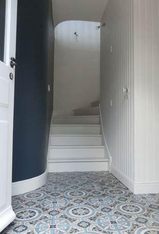 Guide d co carrelage couloir tendance couleurs for Tendance deco couloir