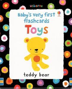 Baby's very first flashcards- Toys by Usborne