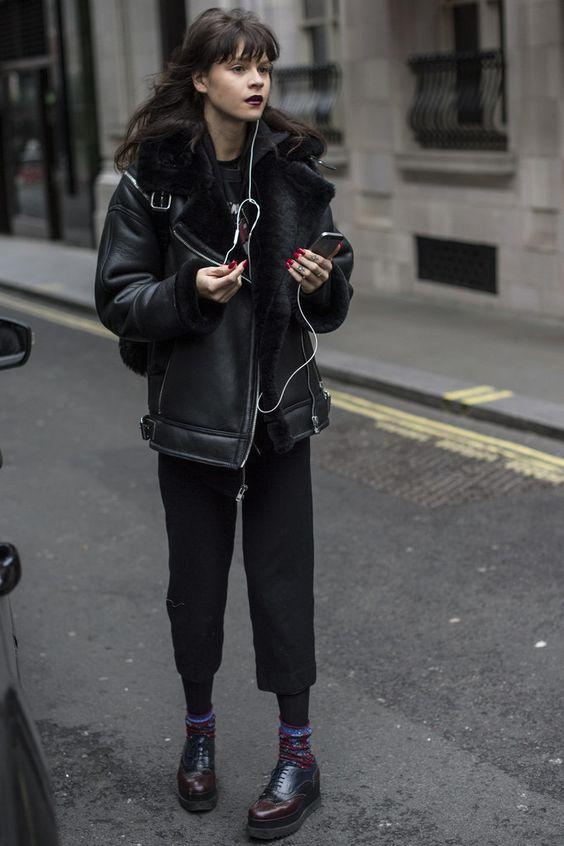 Model Street Style at Fashion Week Fall 2016 | POPSUGAR Fashion