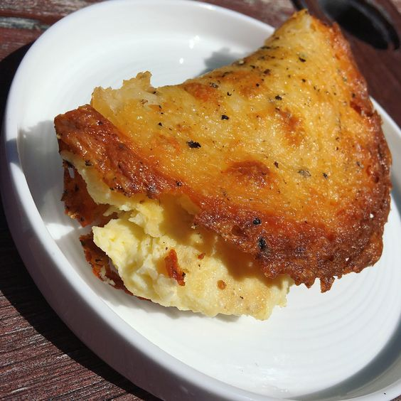 """Delicious keto handheld egg and cheese """"pies."""" Great macros!"""