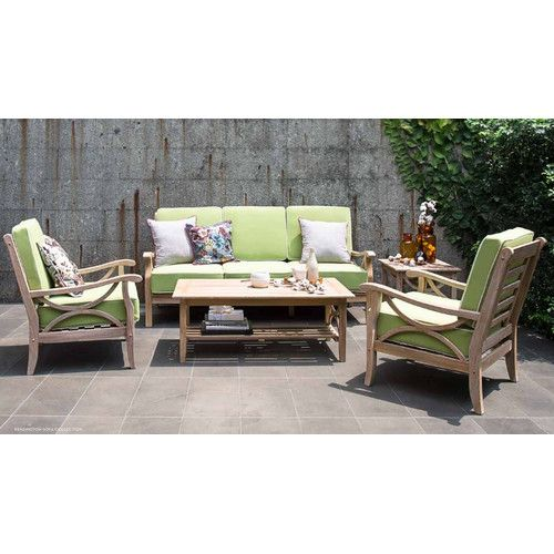 Found it at Wayfair - Kensington 5 Piece Lounge Seat Group with Cushion