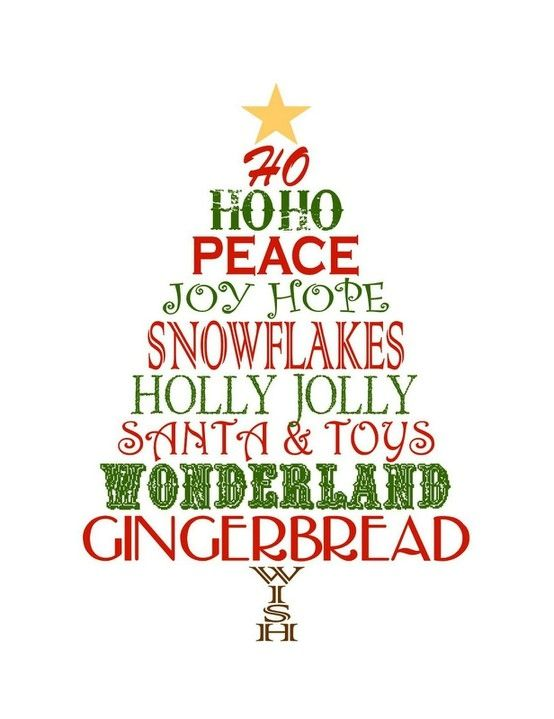 Yuletide Cheer #christmas #typography #inspiration Home Decor - free christmas tree templates
