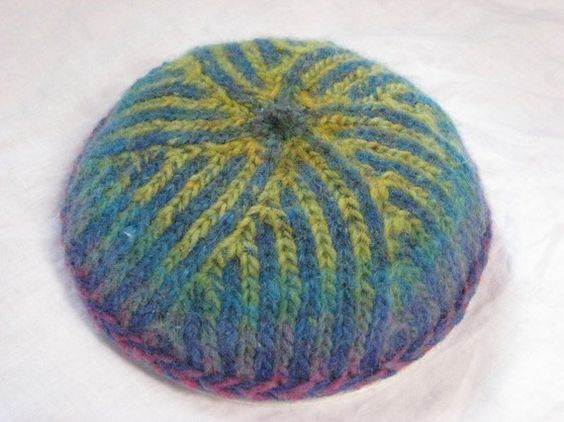 Kippah Knitting Pattern : Ruach Kippah Pattern Patterns
