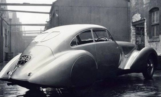 1937 Special prototype by Pourtout (chassis B27LE, design by G. Paulin) for André Embiricos