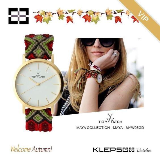 Toy Watch: Chiara Ferragni's choice! Contemporary cult objects, always updated to dictate fashions and trends.  Toy Watch Maya Collection MYW05GD: https://goo.gl/CwUyCS #Klepsoo #Watches #ToyWatch #Maya #ChiaraFerragni #Vip