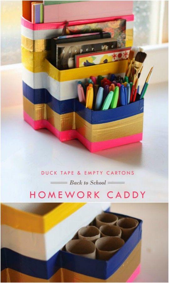 Make It Modern Wooden Diy Desk Organizer Desk Organization Diy Wooden Diy Diy Crafts Desk