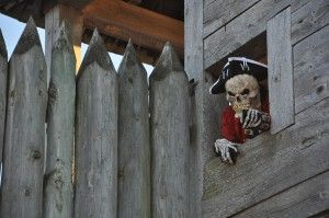 """Annual """"Fort Fright"""" Blends History and Horror in Mackinaw City:"""