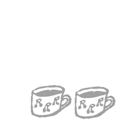 けしゴムハンコ「カップ」ちいさい頃からお気に入りのさくらんぼ柄のマグカップ。麦茶を飲んでいます。|ハンドメイド、手作り、手仕事品の通販・販売・購入ならCreema。