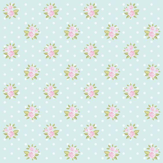 Papel de Parede Floral 1506