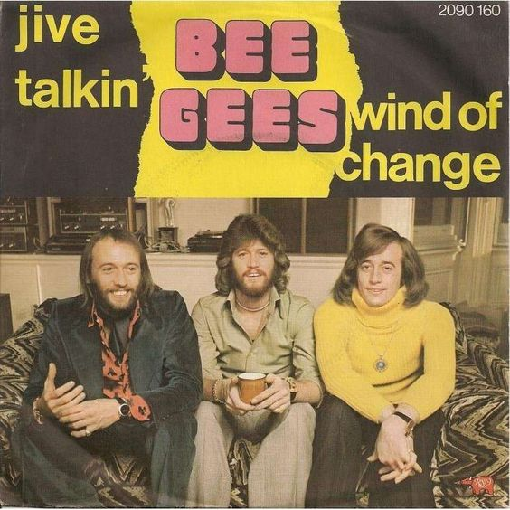 Bee Gees – Jive Talkin' (single cover art)