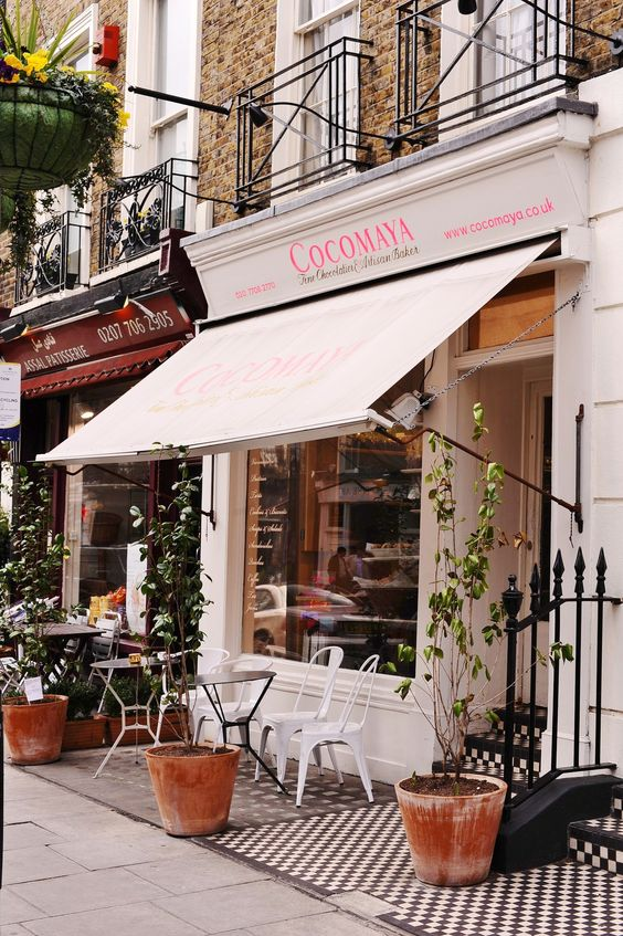 Cocomaya (one of my favourite spots for afternoon tea) Find out more about real london: http://www.citiestalking.com/cities/london/