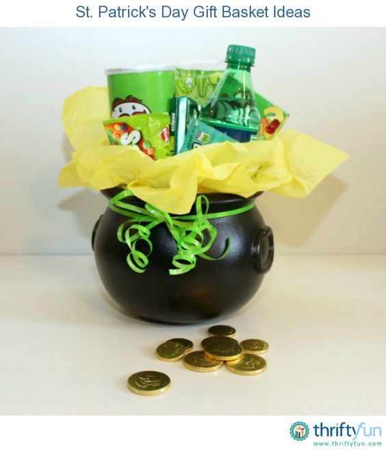 St Patricks Day Gift Basket Ideas And Gift Baskets On