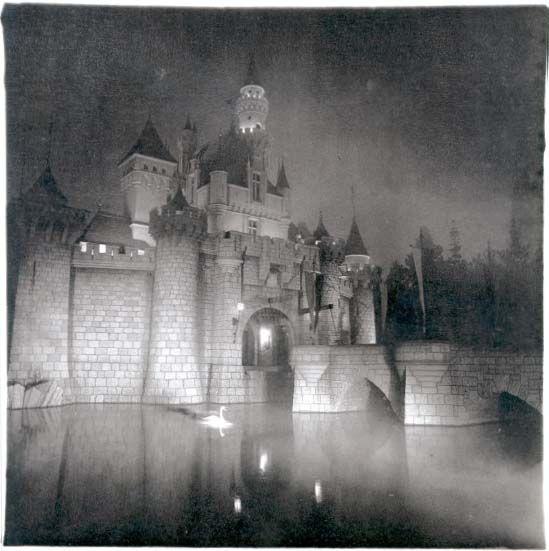 Diane Arbus, A Castle in Disneyland, Cal. (1962)
