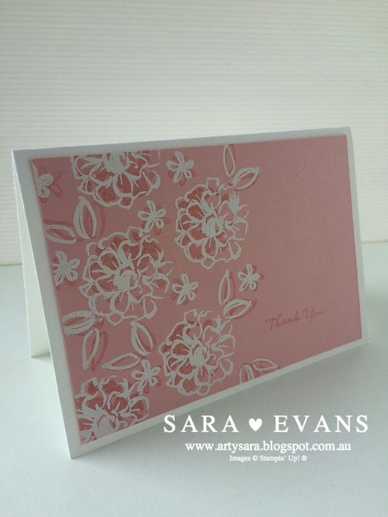 Sara Evans Stampin' Up!® Independent Demonstrator Australia: Crazy Crafters January 2016 Blog Hop:
