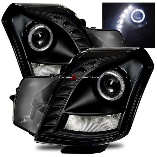 03-07 Cadillac CTS LED Strip Projector Headlights