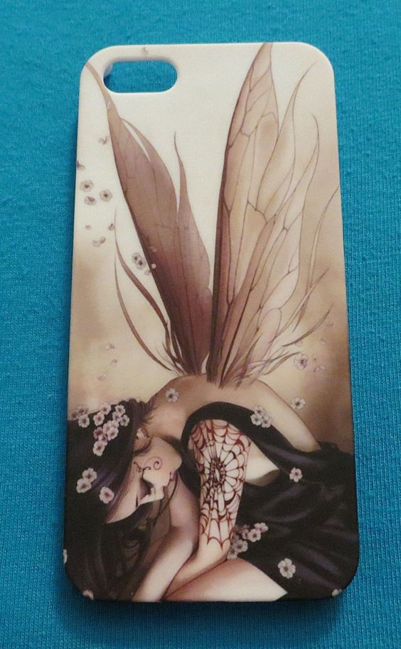 JAPANESE TATTOO FAIRY FITS IPHONE 5 CELL PHONE SKIN CASE COVER NEW