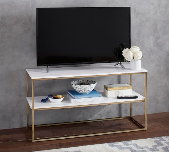 Delaney Marble Media Console Things To Build In 2019